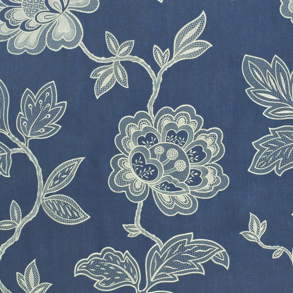 COVE Avron Fabric - Indigo