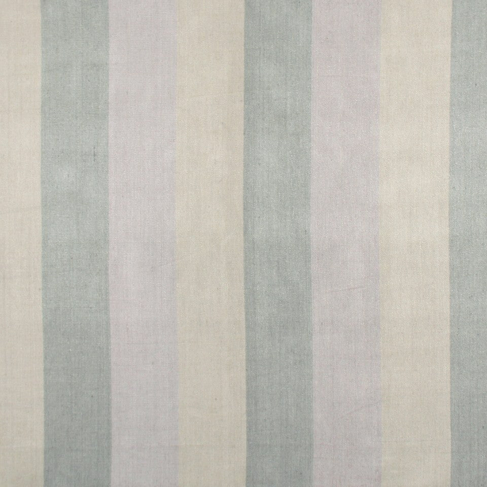 WIDE STRIPES Huron Stripe Fabric - Lilac