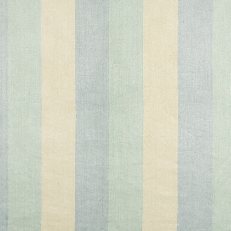 WIDE STRIPES Huron Stripe Fabric - Lake