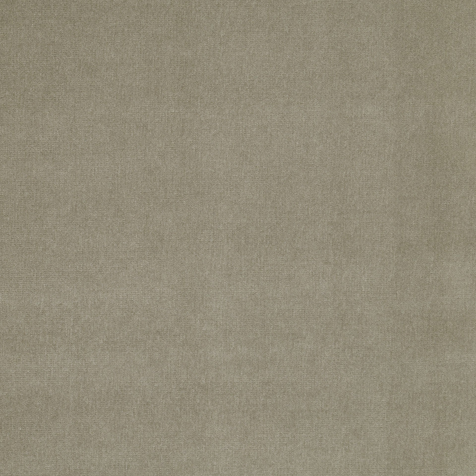 COTTON VELVET SOLIDS Lady Elsie Fabric - Smoke