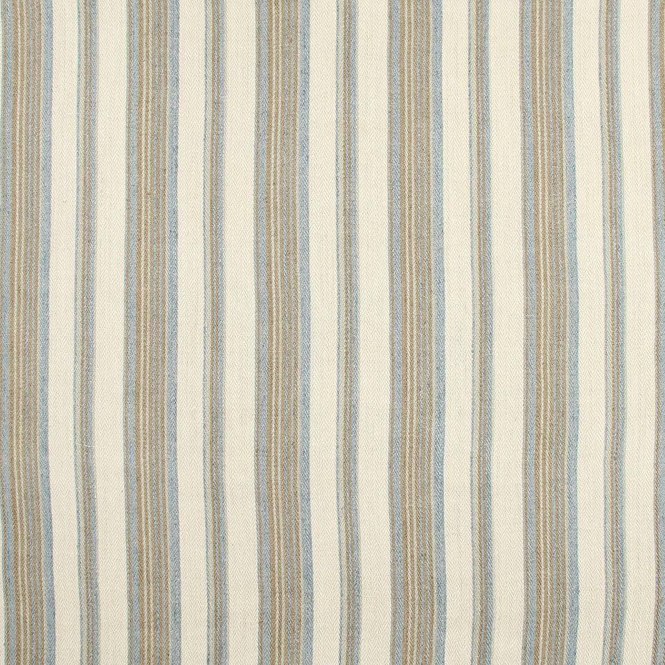 FROST Gaucho Stripe Fabric - Frost