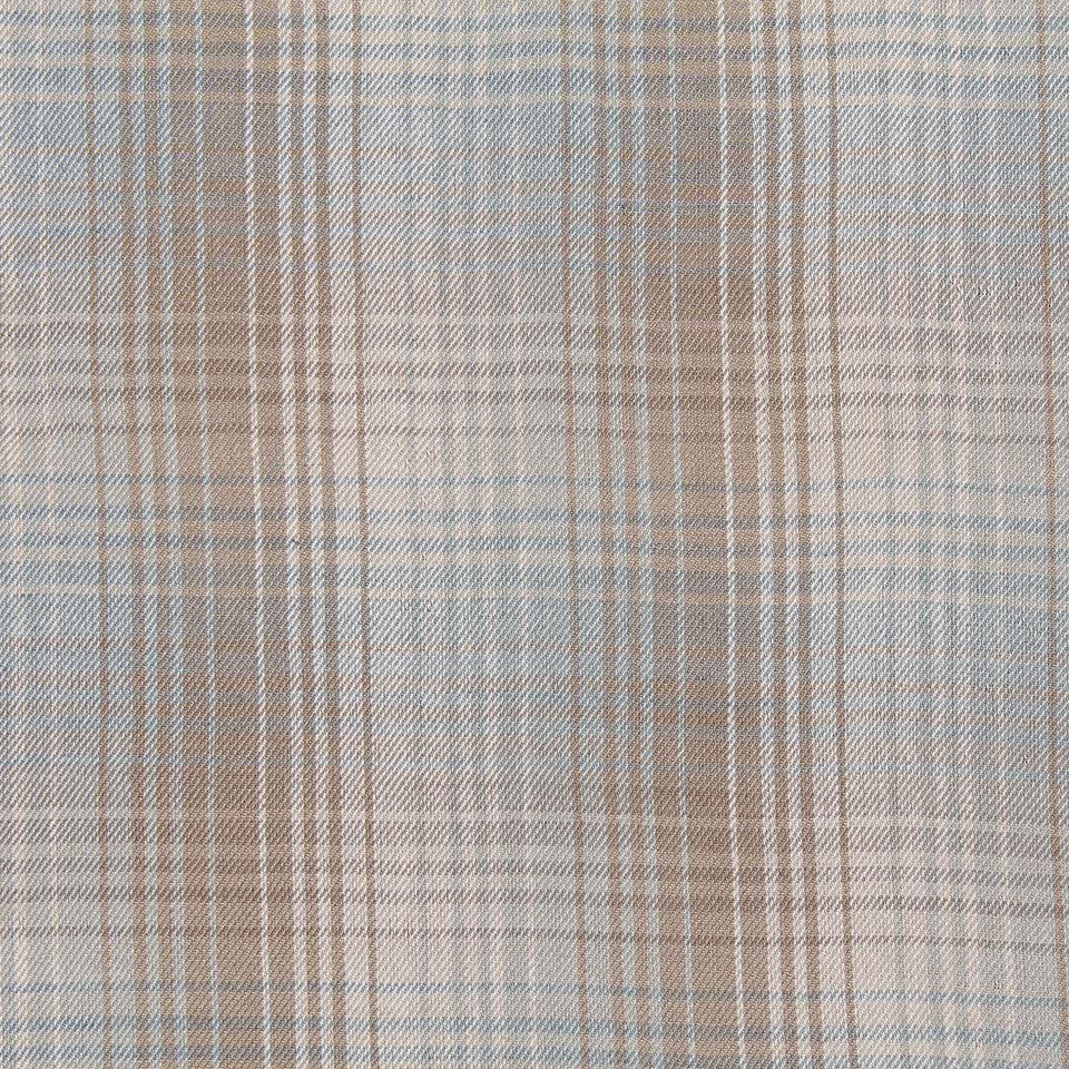 FROST Pampas Plaid Fabric - Frost
