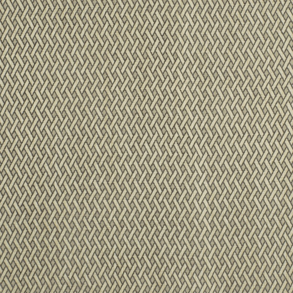 SMOKE Canasta Weave Fabric - Smoke