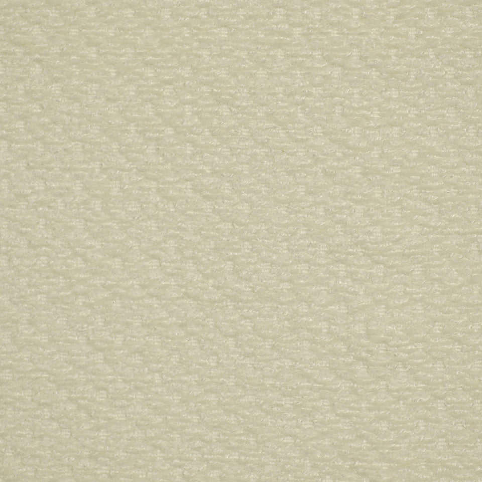 PLUSH CHENILLE SOLIDS Flowing Waves Fabric - Frost