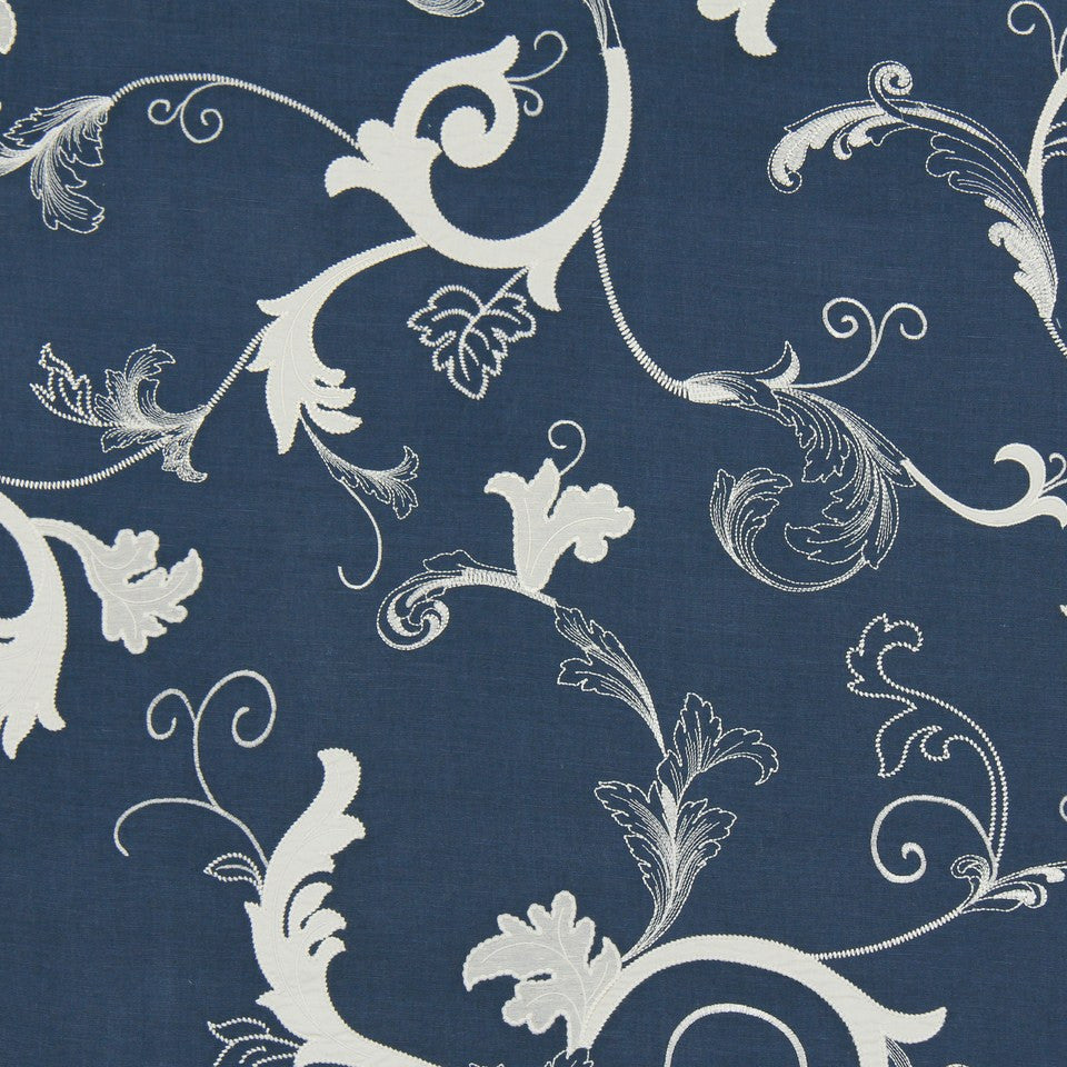 COVE Escanaba Fabric - Indigo