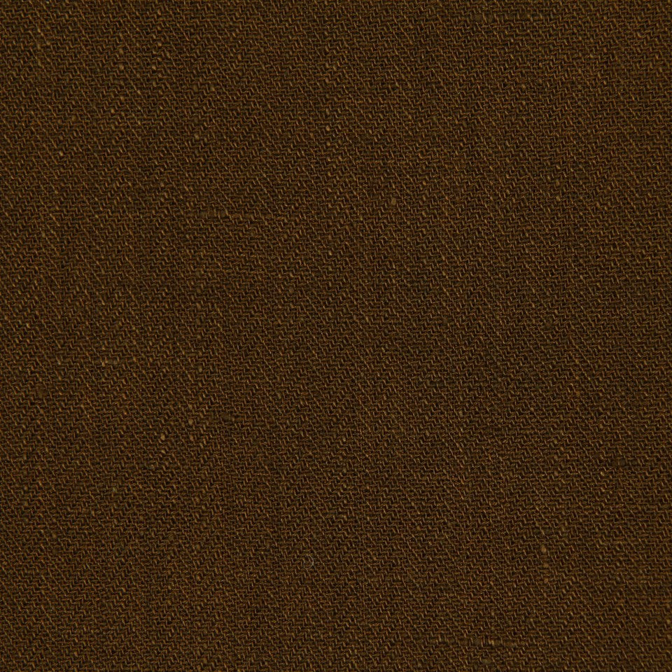 COVE Lakeside Solid Fabric - Teak