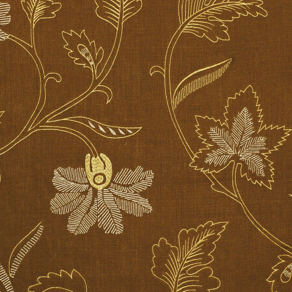 COVE Lakeside Fabric - Teak