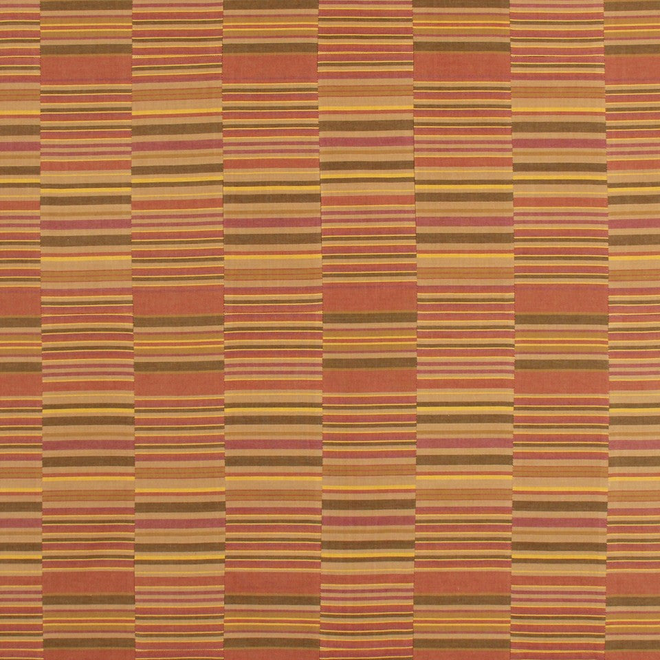 COVE Emerson Stripe Fabric - Clay