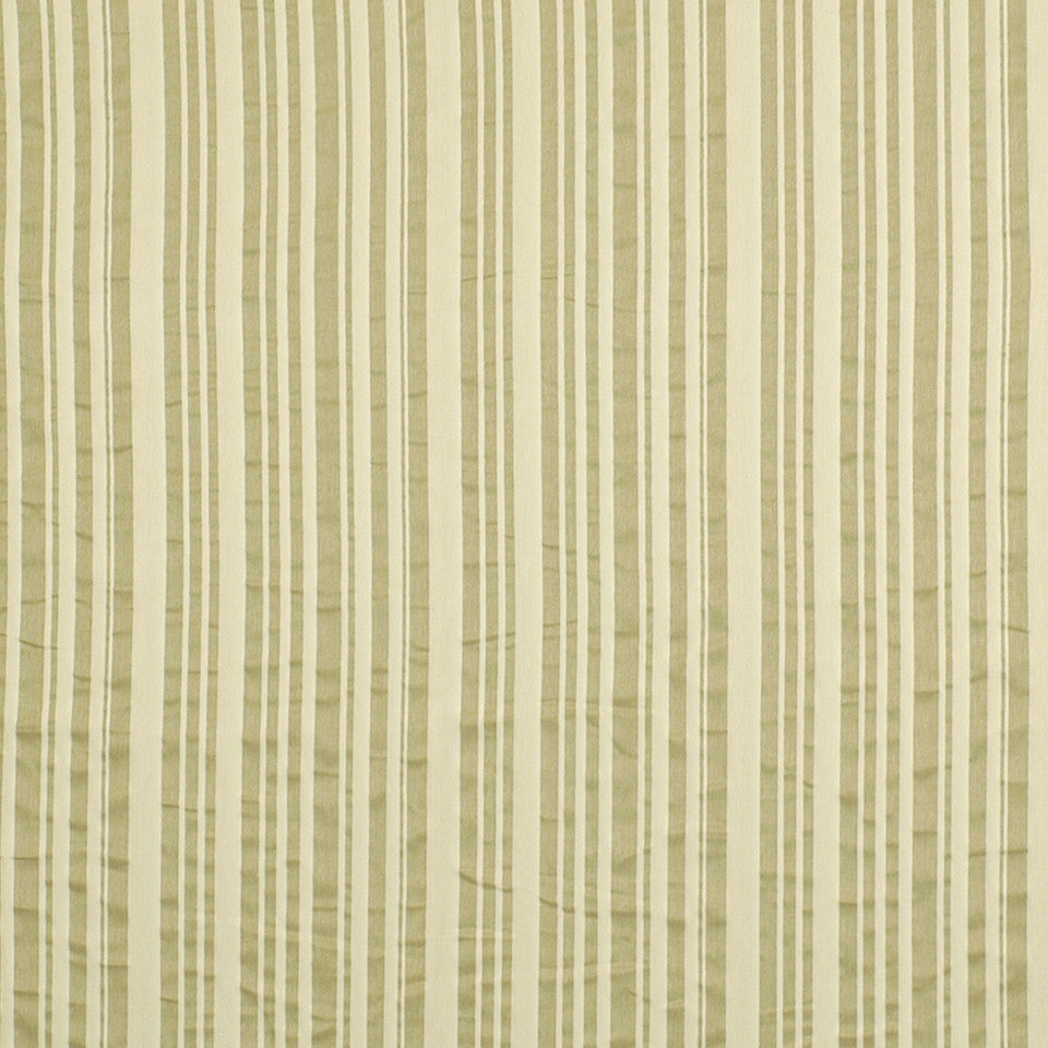 FROST Laurel Stripe Fabric - Frost