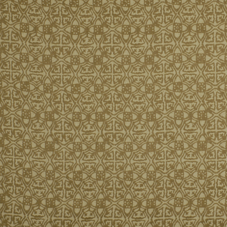 OCEANA INDOOR/OUTDOOR Ancient Path Fabric - Twine