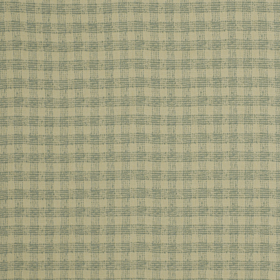 OCEANA INDOOR/OUTDOOR Plaid Mat Fabric - Pool