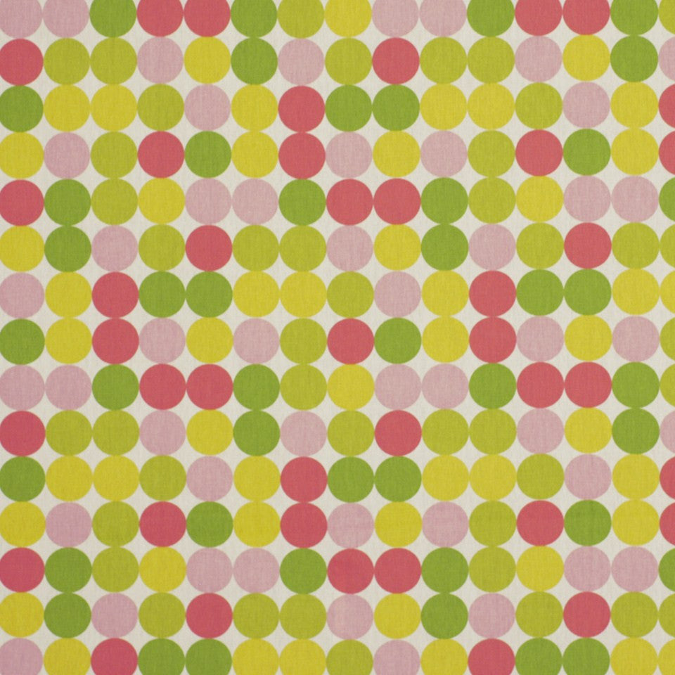 Zoo Dot Fabric - Pink