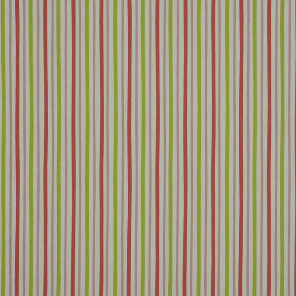 Zoo Stripe Fabric - Pink