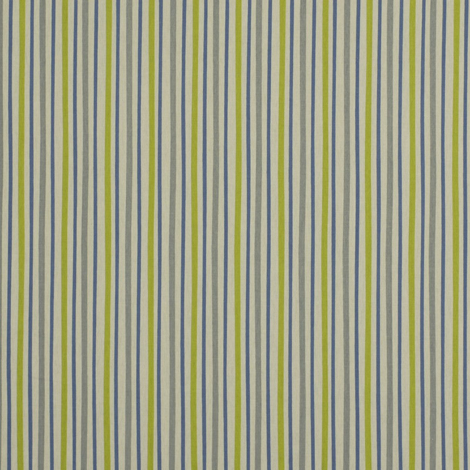 Zoo Stripe Fabric - Grey