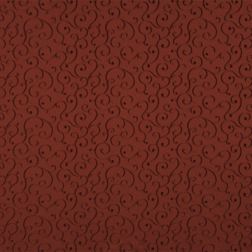 RUBY-BEESWAX-GERANIUM Visibly Soft Fabric - Barn Red