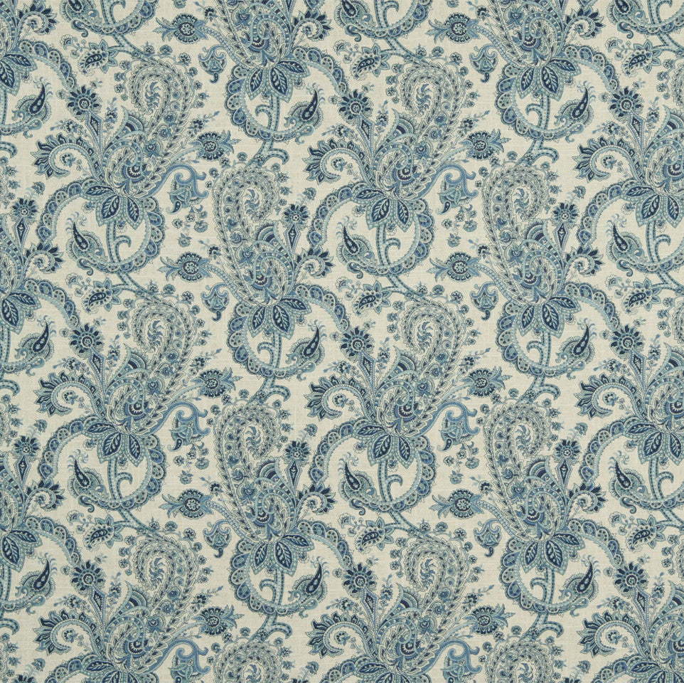 MIST-ATLANTIS-LAPIS Grand Hotel Fabric - Rain