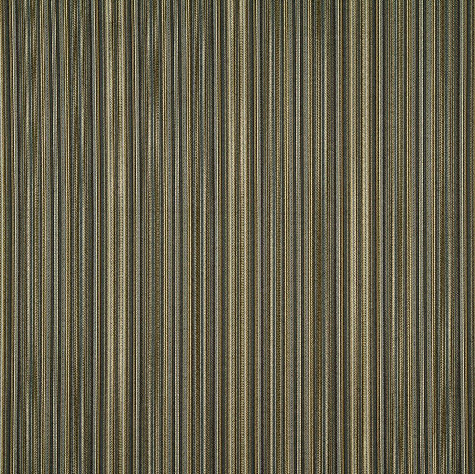 MIST-ATLANTIS-LAPIS Lawford Stripe Fabric - Storm