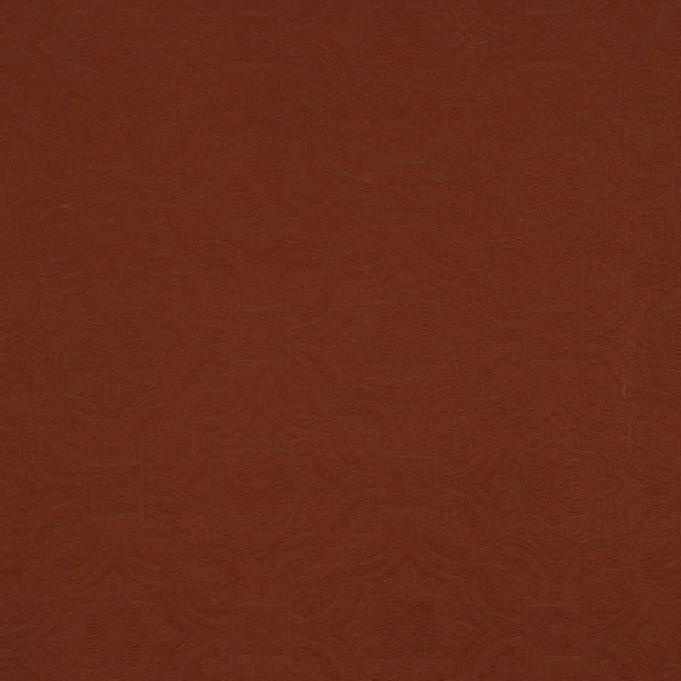 SAFFRON-AUBURN-SIENNA Cool Imprints Fabric - Cinnabar