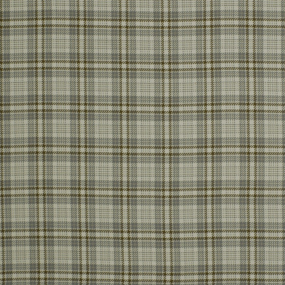 Luxe Glen Fabric - Stone Java
