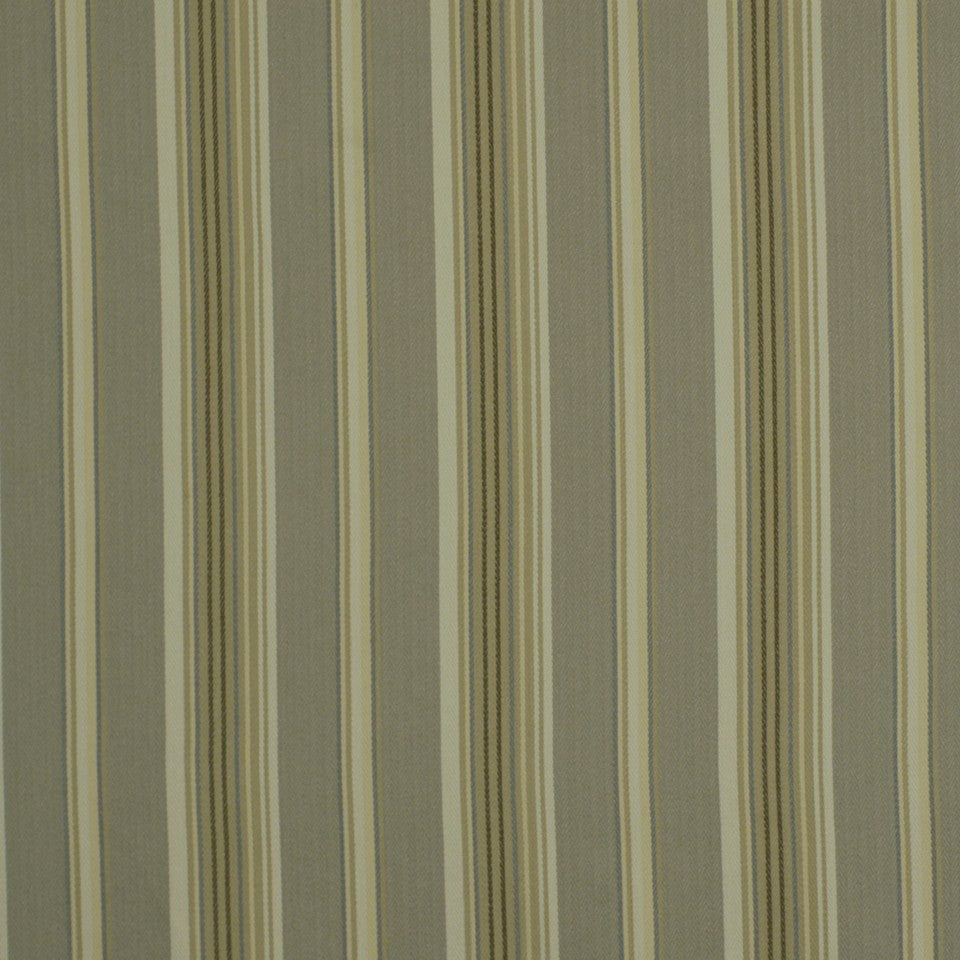 Luxe Stripe Fabric - Pewter Stone