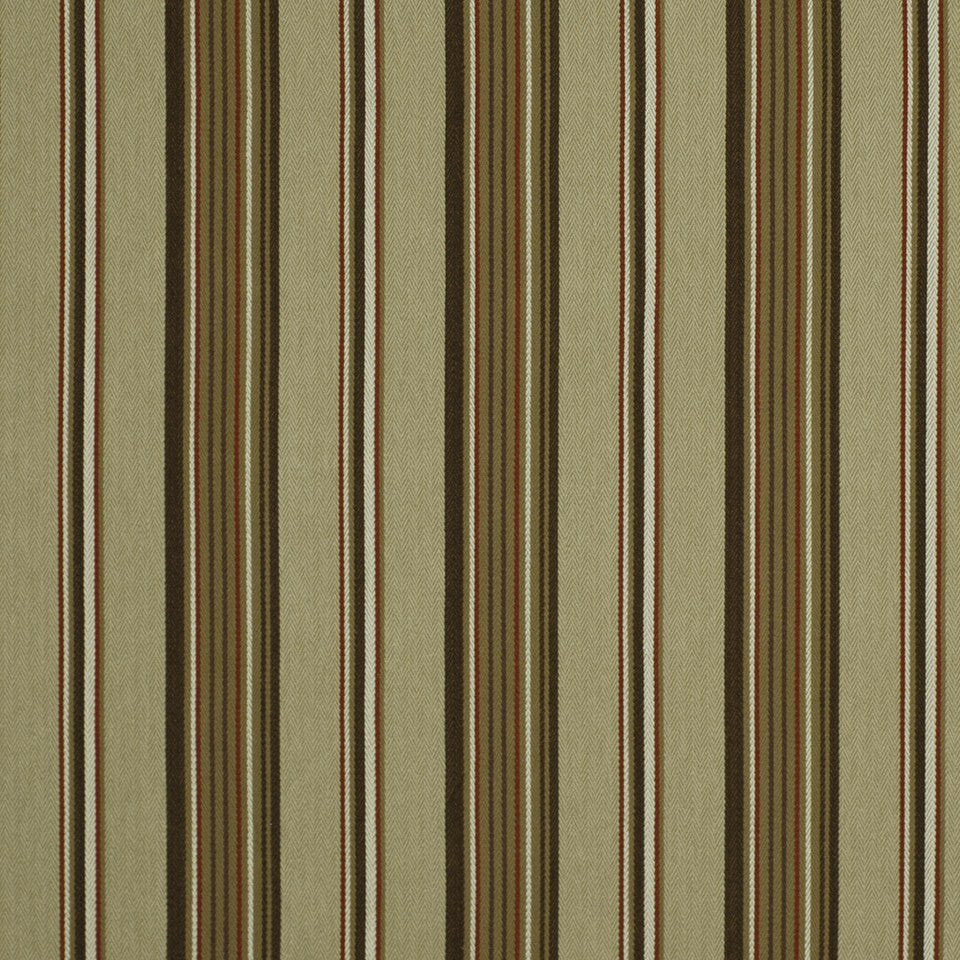 SUNSET-HENNA-BERRY Luxe Stripe Fabric - Tuscan Red
