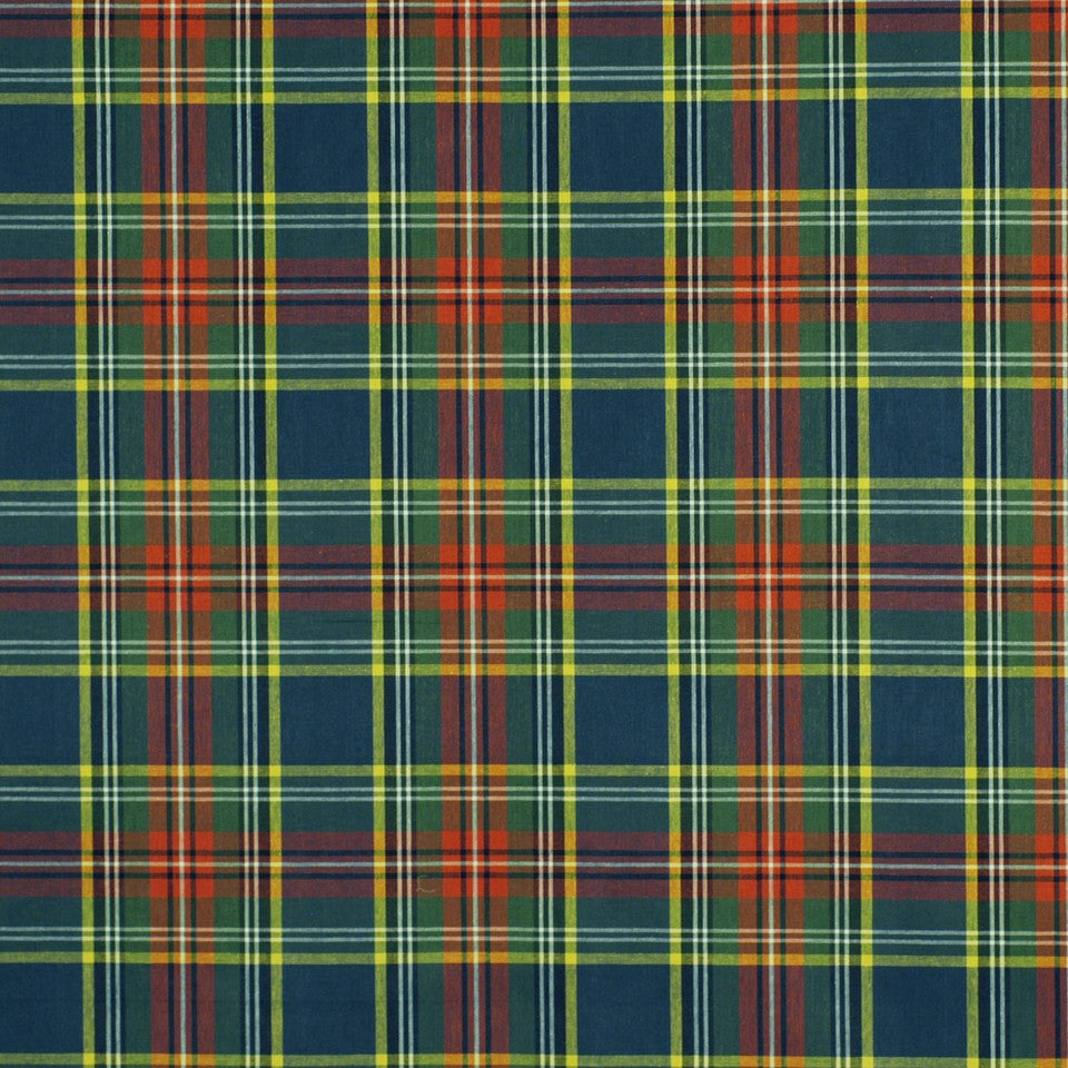 Plaid Tartan Fabric - Multi