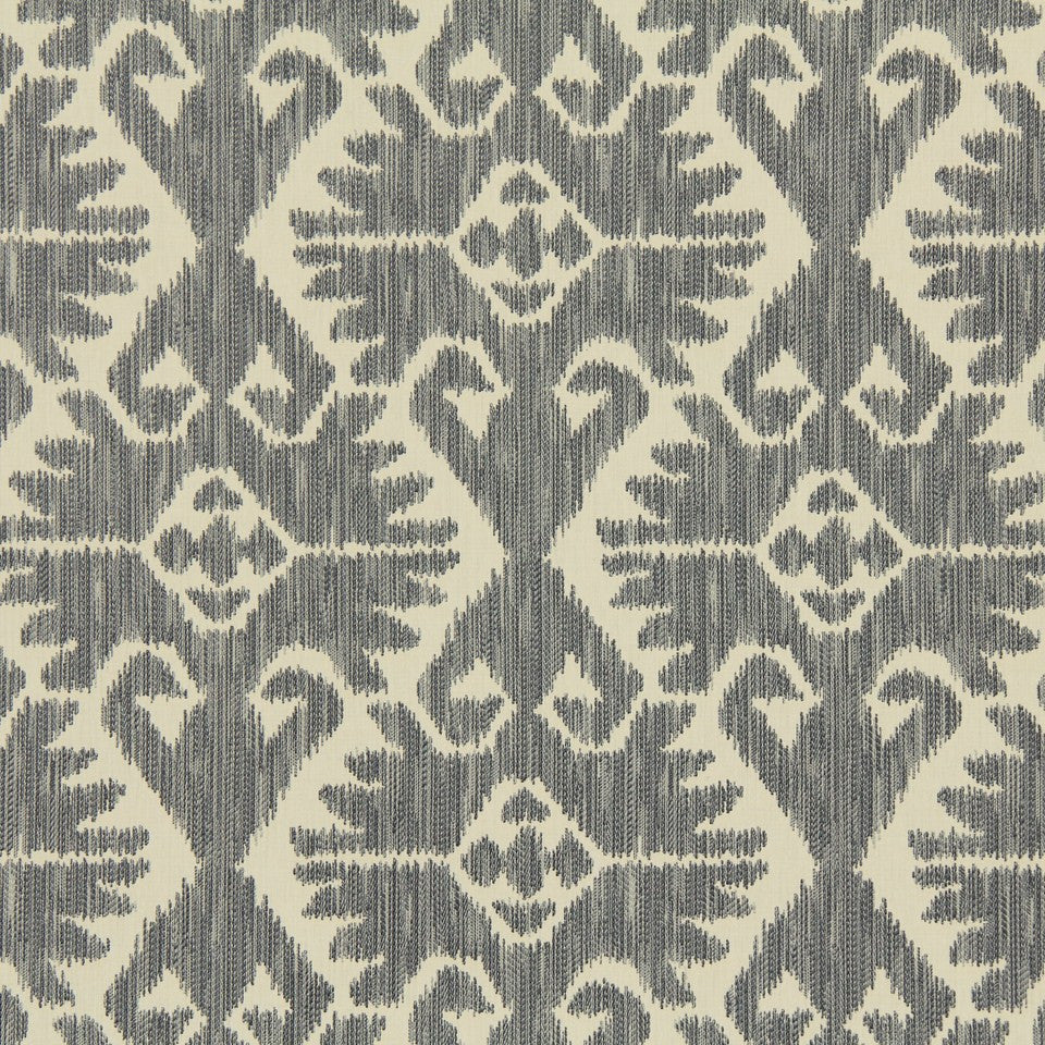 GREYSTONE Country Cabin Fabric - Greystone
