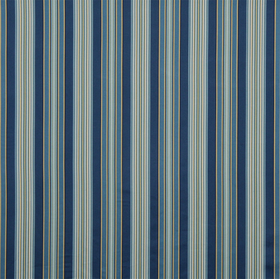 MIST-ATLANTIS-LAPIS Striping Fabric - Denim