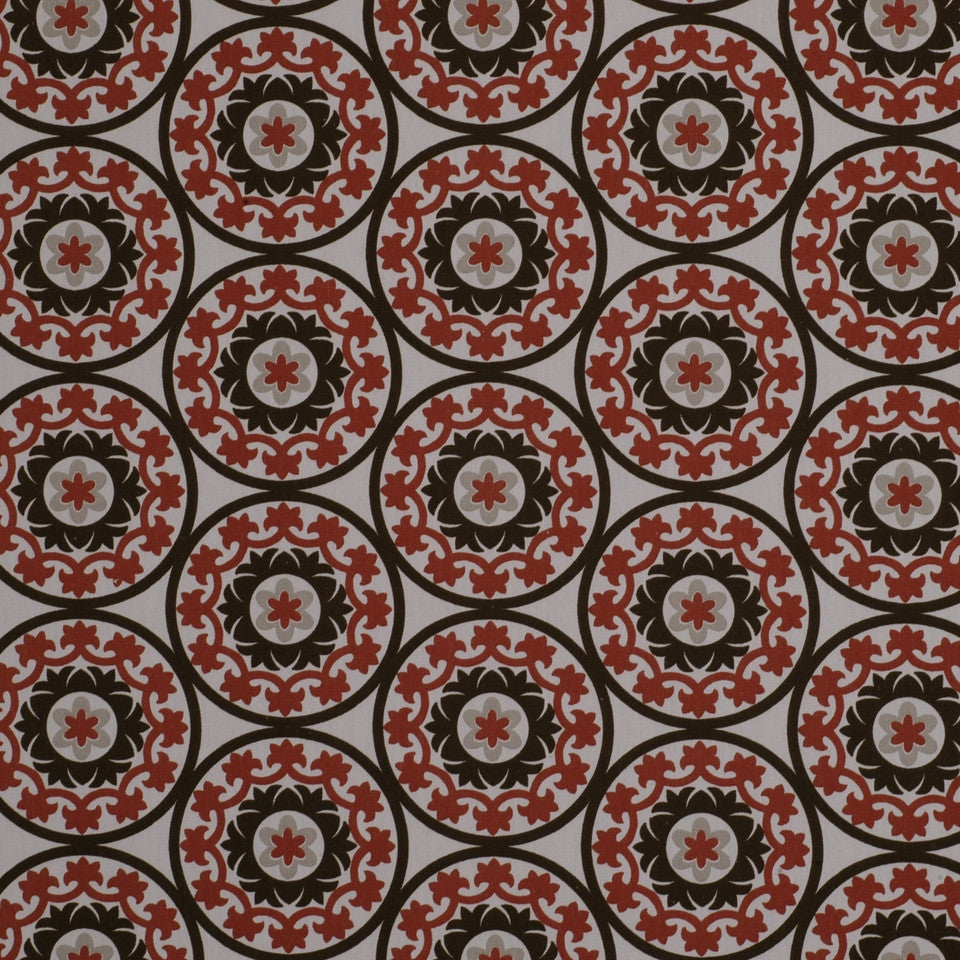 Suzani Fabric - Poppy
