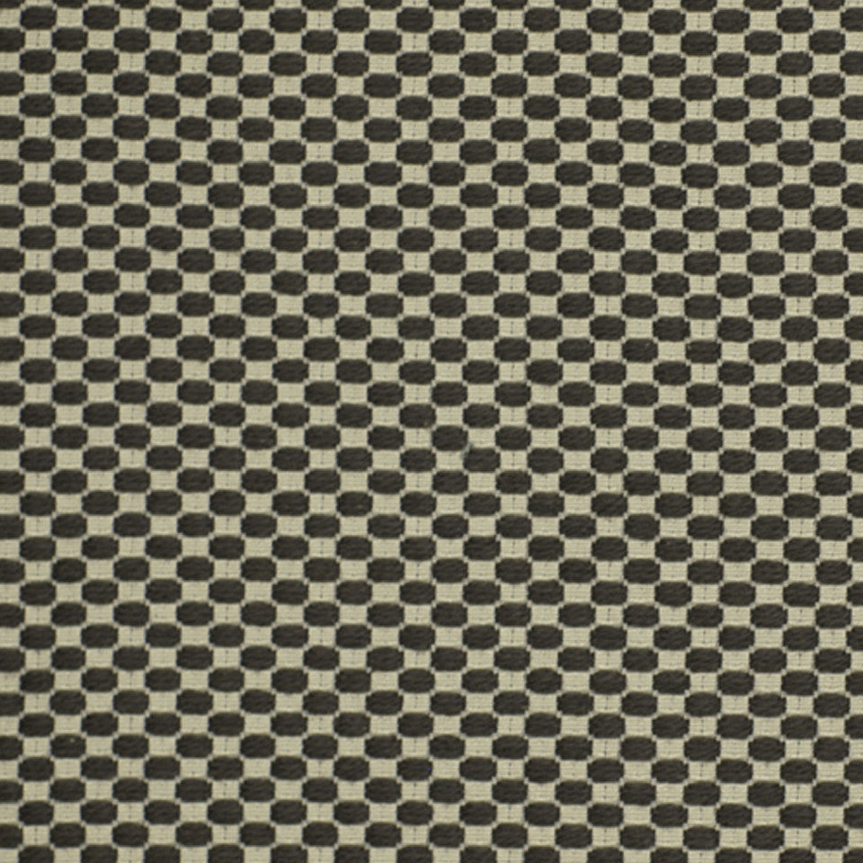 GREYSTONE Lots Of Dots Fabric - Greystone