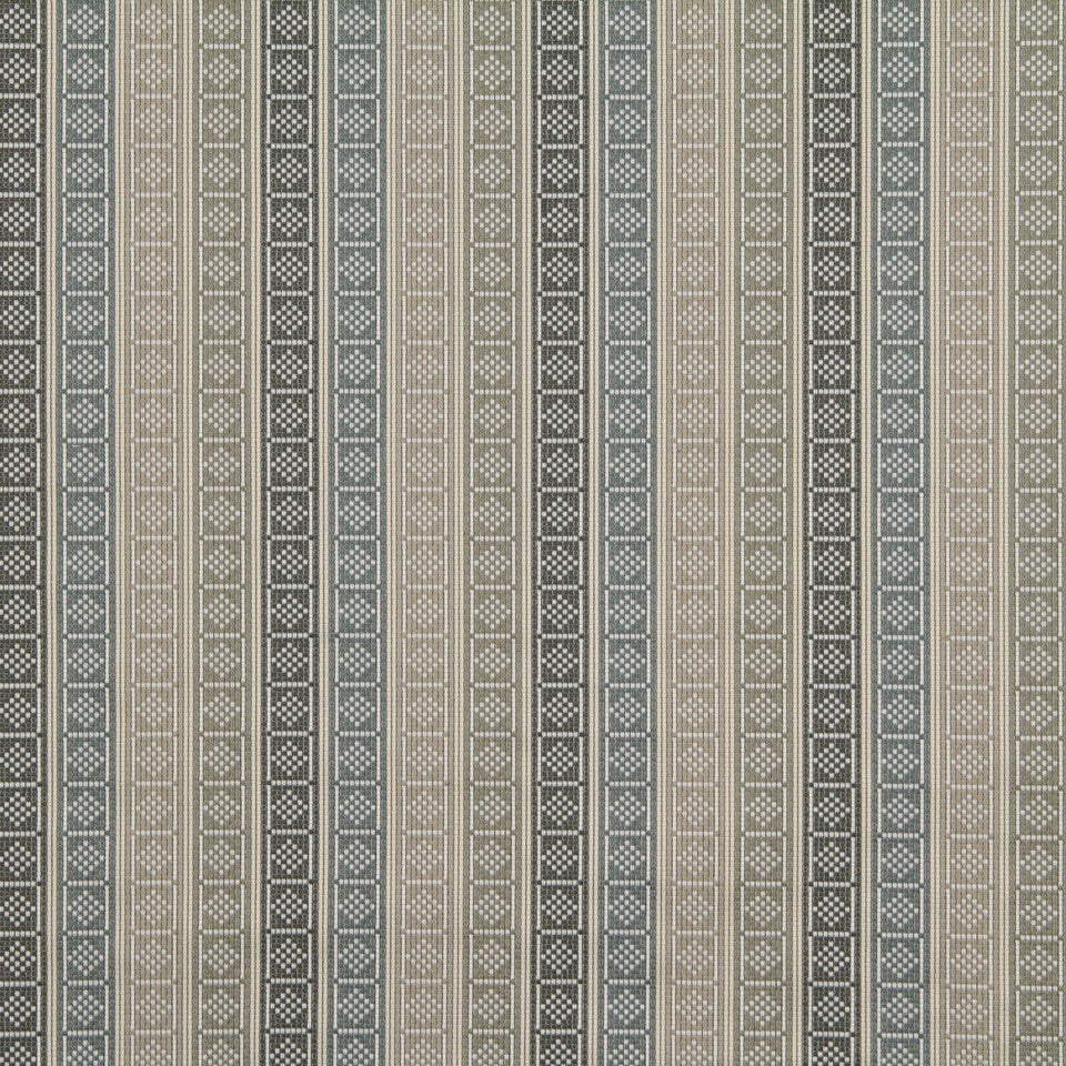 GREYSTONE Diamond Blocks Fabric - Greystone