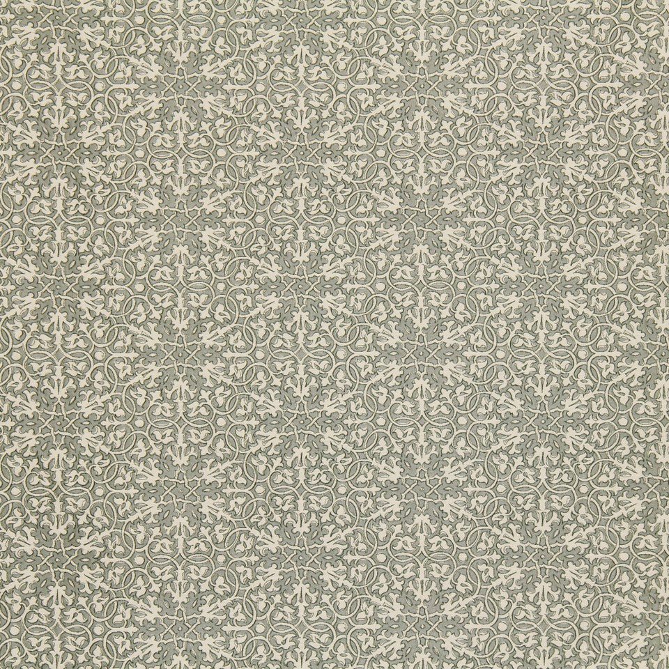 GREYSTONE Hearts Galore Fabric - Greystone