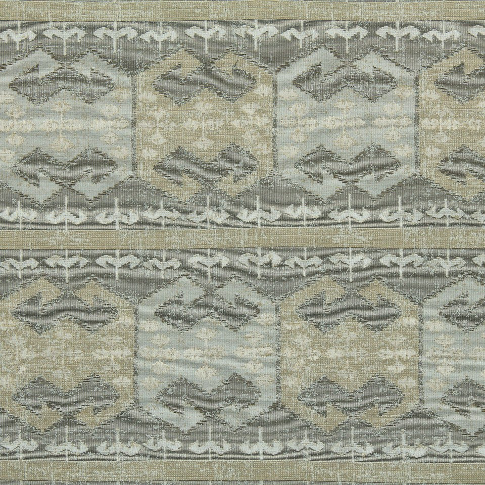 GREYSTONE Indian Path Fabric - Greystone