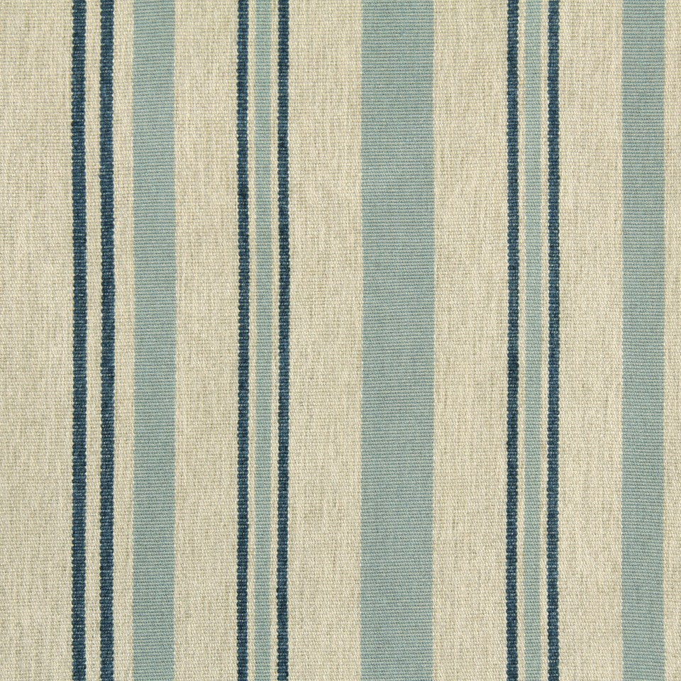 INDIGO Wood Junction Fabric - Indigo