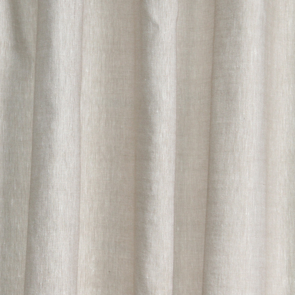 SOLID LINEN SHEERS Helene Fabric - Cafe