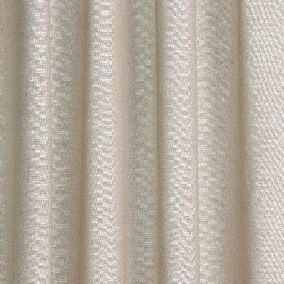 SOLID LINEN SHEERS Kazak Fabric - Sand