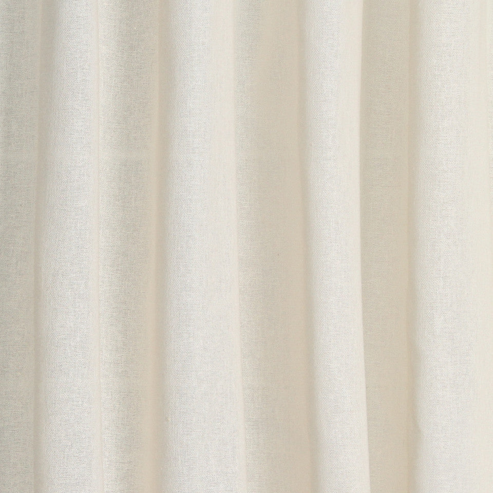 SOLID LINEN SHEERS Rizer Fabric - Adobe