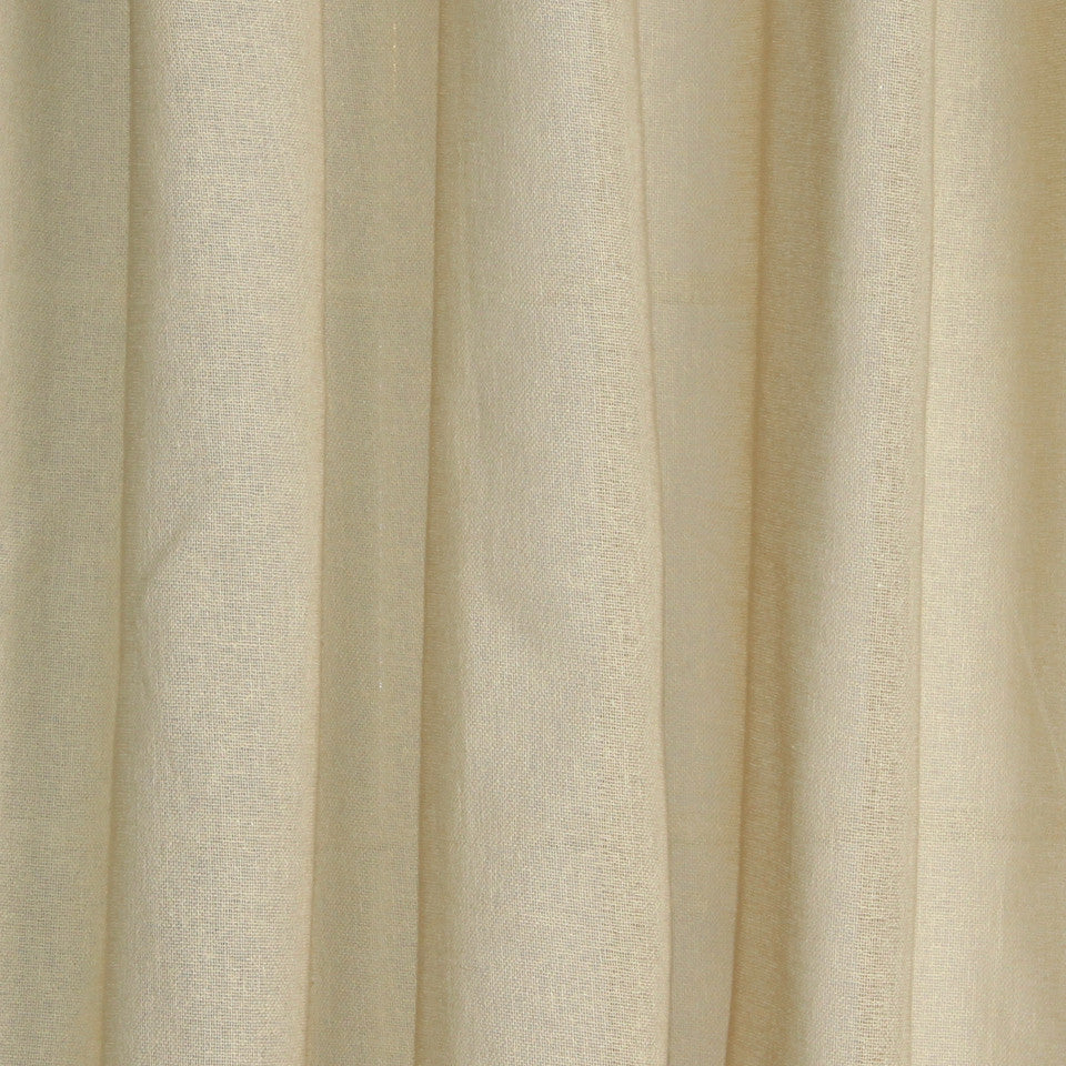 SOLID LINEN SHEERS Rizer Fabric - Jute