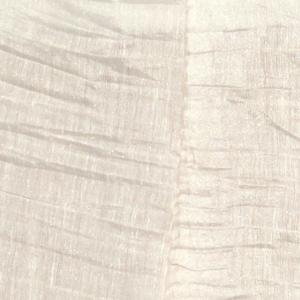 TEXTURED SHEERS Sheer Dazzle Fabric - Pearl