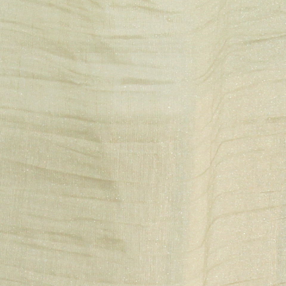 TEXTURED SHEERS Sheer Dazzle Fabric - Oatmeal