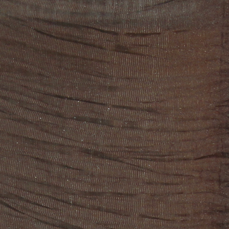 TEXTURED SHEERS Sheer Dazzle Fabric - Walnut