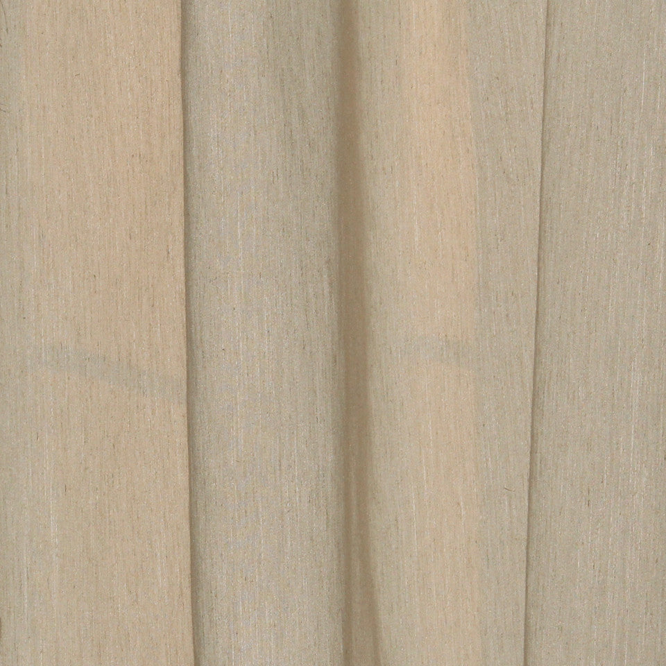TEXTURED SHEERS Graziella Fabric - Bark