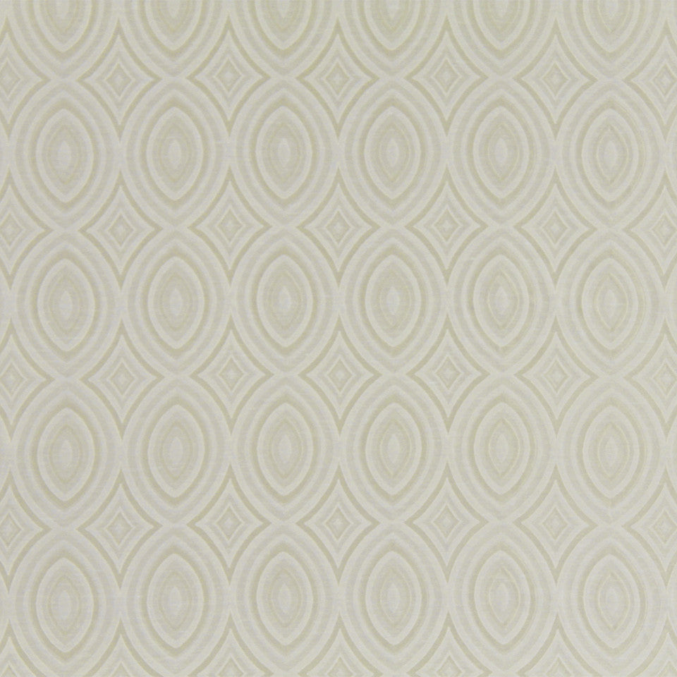 MODERN SHEERS Wide Eyes Fabric - Ivory