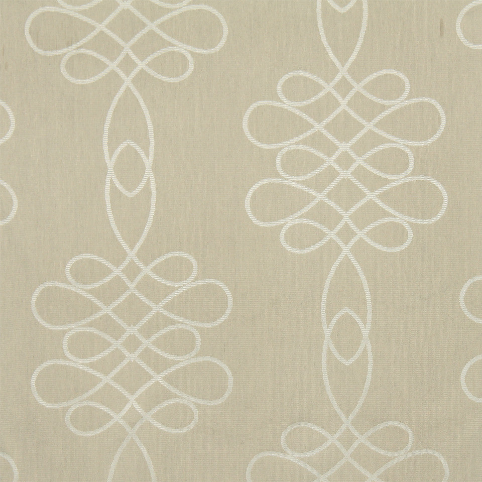 MODERN SHEERS Denning Fabric - Grain