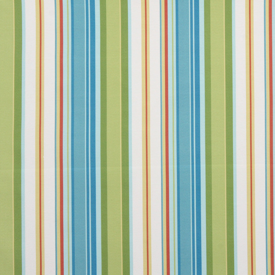 Stripe Cabana Fabric - Sky