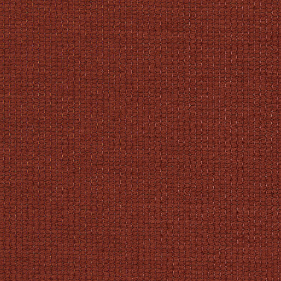 PERFORMANCE TEXTURES II Cotton Loop Fabric - Paprika