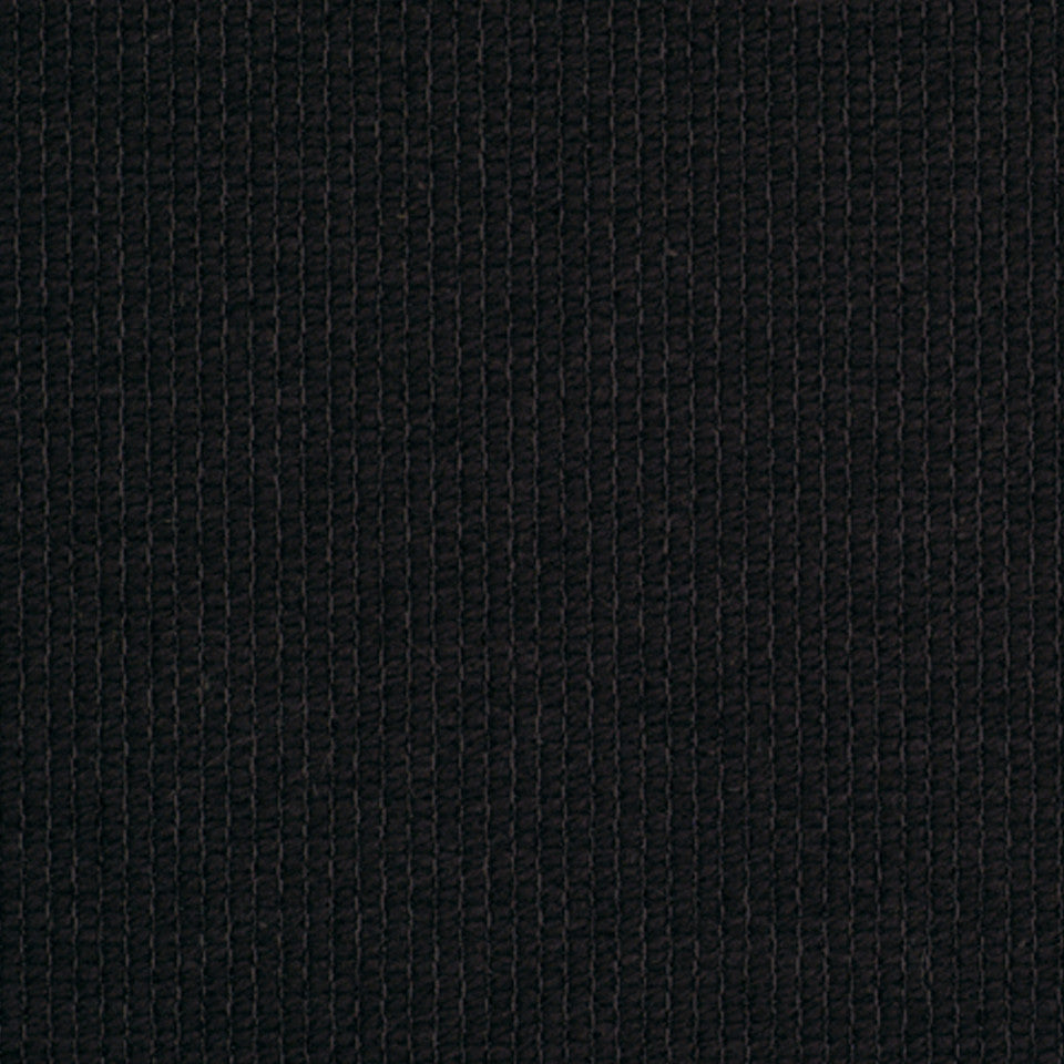 PERFORMANCE TEXTURES II Cotton Loop Fabric - Noir
