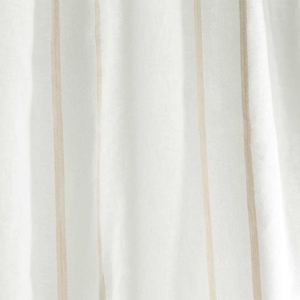 Patterned Sheers Admiration Fabric - Natural