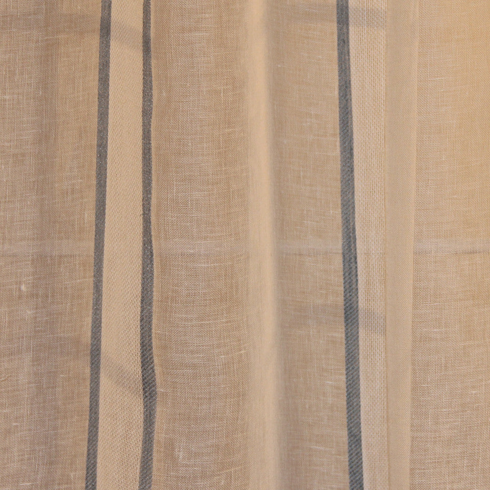 NATURAL SHEERS LIGHT NEUTRALS Admiration Fabric - Mist