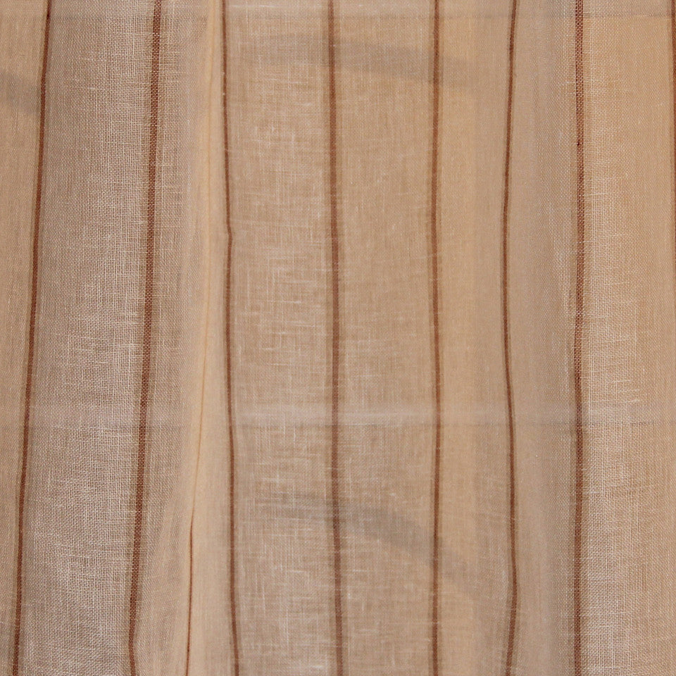 NATURAL SHEERS DARK NEUTRALS Radical Road Fabric - Mesa